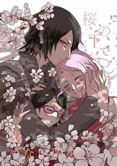 Find images and videos about sakura, sasuke and sasusaku on We Heart It - the app to get lost in what you love. Anime Naruto, Shippuden Sasuke Uchiha, Sasuke Uchiha Sakura Haruno, Boruto And Sarada, Naruto And Sasuke, Itachi, Inojin, Naruto Fan Art, Chibi