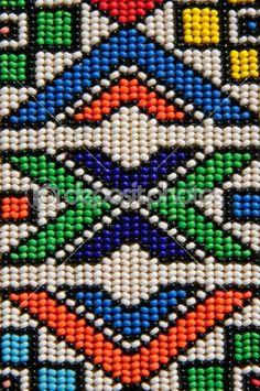 beadwork pattern via depositphotos.com