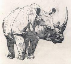 Rhino - WIP by ~SharkeyTrike