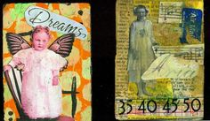 Altered Book Lover: Altered Playing Cards week 5