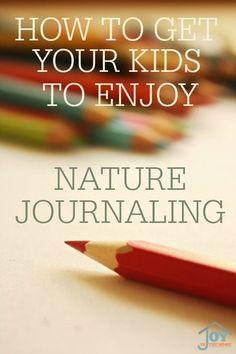 Enjoy nature journal
