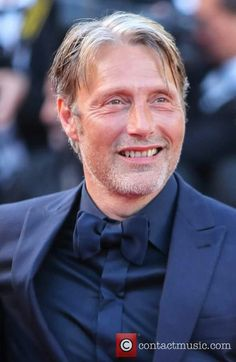 Mads Mikkelsen at the Cannes Film Festival Anniversary Soiree held at Palais des Festivals, 23 May 2017 Mads Mikkelsen, Cannes 2017, Nbc Hannibal, Palais Des Festivals, Everything And Nothing, Close Up Portraits, Hello Gorgeous, Cannes Film Festival, Future Husband