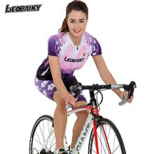 US $57.19 LEOBAIKY Cycling Set 2017 PRO Team MTB Short Sleeve Jersey + Shorts Women Bike Shirt Sport Clothing Bicycle Maillot Ciclismo 817. Aliexpress product
