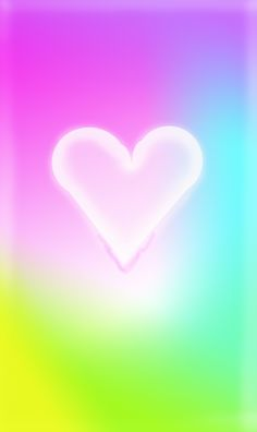 Pastel heart wallpaper iPhone