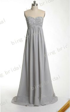 New arriival A-line Sweetheart Chiffon Floor-length Long Bridesmaid Dress Prom Dress Evening Dresses Formal Dress 2013 With Sequins