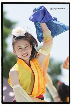 YOSAKOIソーラン2010 by hashiee, via Flickr #yosakoi, #よさこい