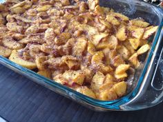 July 4th Party Dishes: Raw Peach Cobbler