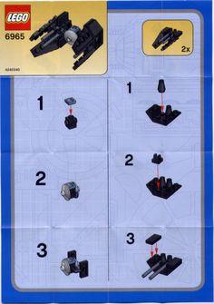 Star Wars Mini - TIE Interceptor [Lego 6965]