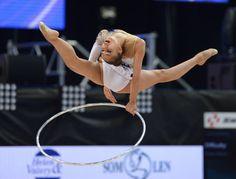 Margarita Mamun (Russia) at European Championships, Minsk 2015