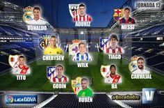 WILK ha sido elegido como el mejor mediocentro junto con Tiago de la jornada 12 de la Liga BBVA para la redacción de VAVEL ESPAÑA.