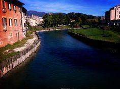 Il fiume Velìno a Rieti