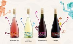 Low alcohol wines with a beatiful and attractive bottle: it can be a good start for a person that wants to enter in contact with the world of wines! Low Alcohol Wine, Best Start, Wines, Packaging Design, Social Media, Recipe, Bottle, Canteen, Menudo Recipe