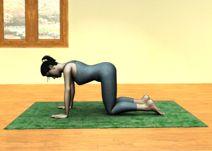 Video de yoga para el embarazo: Qué dolores alivia la postura del molino y cómo realizarla