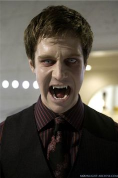 """Jason Dohring as powerful vampire Josef Kostan in """"Moonlight"""".  Oooo! Even sexier!! I don't how this show didn't make it. The makeup used is incredible, and the actors are SO HOT!"""