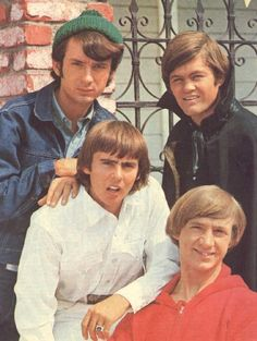 Mike Nesmith, Davy Jones, Micky Dolenz, Peter Tork, The Monkees Davy Jones Monkees, The Monkees, 60s Music, Music Like, Michael Nesmith, Peter Tork, Classic Tv, Classic Rock, Old Tv