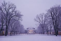 UVA snow