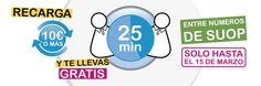 MasQmoviles Soup premia a sus usuarios con servicio de voz gratuito en recargas de 10 euros o más