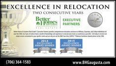 Cartus Award Announcement Ad  Better Homes & Gardens Real Estate | Executive Partners  #realestatebranding