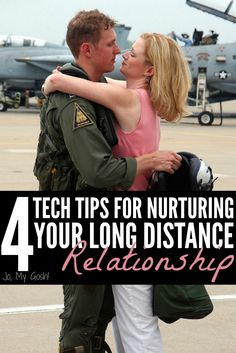 Great technology tips for couples in long distance relationships, deployment, separations, ldrs