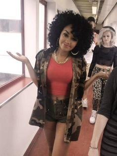 Little Mix girl group member, Leigh-Anne Pinnock