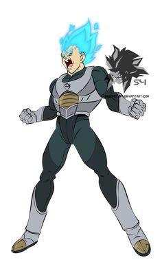 Super Saiyan Blue Vegeta MLL Influenced by on DeviantArt Dragon Ball Image, Dragon Ball Gt, Superhero Art Projects, Anime Pixel Art, Yandere Anime, Anime Characters, Character Design, User Profile, Deviantart