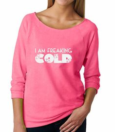 I Am Freaking Cold Super Soft & Lightweight by BlueSandTextiles
