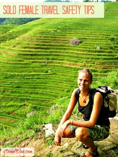Podcast - Solo female travel safety tips. Come list here: http://www.ytravelblog.com/travel-podcast-solo-female-travel-safety-tips/