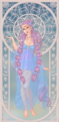 Ersa, déesse de la rosé (on azalea's dolls)