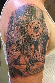 roman soldier tattoo - Bing Images