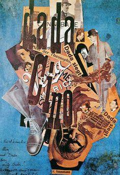 Dada Cino cover by Raoul Hausmann — 1922