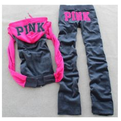 Track/sweat suits ufe0f on Pinterest | Track Suits Juicy Couture and Chanel Outfit