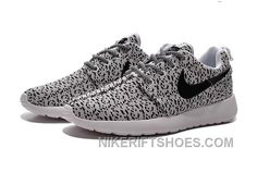 cheap for discount 18066 6004f 2015 Winter Latest NIKE Roshe One X Yeezy 350 Flyknit Women Running Shoes  Gray Black For Sale, Price: $85.00 - Nike Rift Shoes