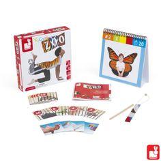 Een erg leuk en innovatief spel voor kinderen om kennis te maken met yoga.