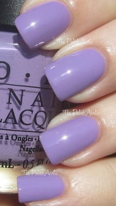 """""""Do You Lilac It?"""" i love this nail polish! bought it at the airport, its so pretty"""