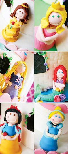 Colorful Disney Princess Party Ideas