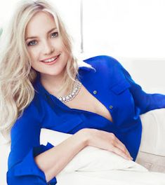 Beautiful Kate Hudson modelling Ann Taylor
