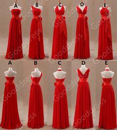 Simple cheap bridesmaid dresses Long bridesmaid by gooddress, $109.99