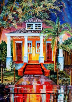 Big Easy Bungalow Painting