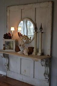 Classic ~ Casual ~ Southern Style: Decorating with Doorshttp://classiccasualstyle.blogspot.com/2013/05/decorating-with-doors.html?m=1