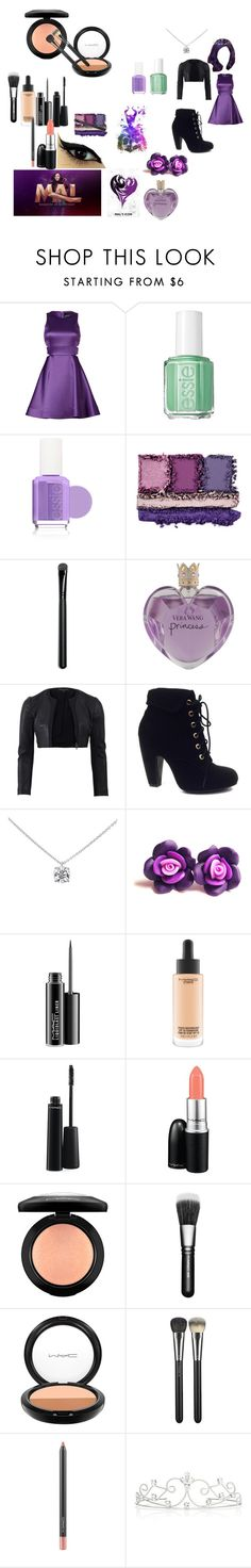 """Mal"" by jelly-fish1o1 ❤ liked on Polyvore featuring Disney, Cynthia Rowley, Essie, Vera Wang, Narciso Rodriguez, Bamboo, Tiffany & Co., MAC Cosmetics and Forever New"