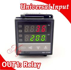 Freeshipping RKC Digital PID TEMPERATURE CONTROLLER Thermostat Universal Input Relay Output