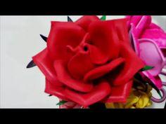 rosa mexicana / rosa colombiana ou rosa lisa eva passo a passo