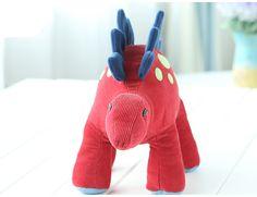 Free Shipping large dinosaur stuffed animal pattern Soft Plush Animal Kids Toys Educational Model
