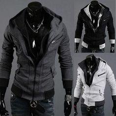 Assassin Double Zipper Hoodie – eDealRetail