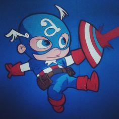 Mini-Captain America