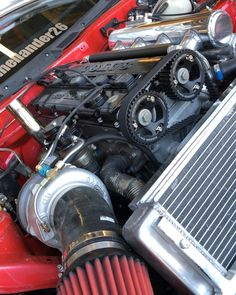 """Muscle-Car Supercharger Poster 19/""""x 13/"""""""
