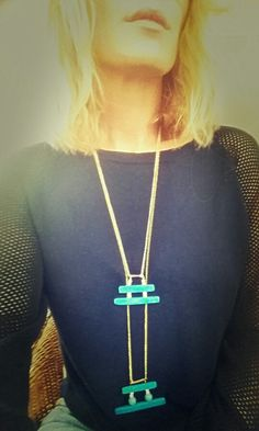 Temple Neckless made by me for you...  #palepony @darkhorsecollective #loveyourownstyle