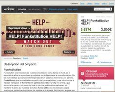 Captura de pantalla del éxito de la campaña de crowdfunding de funkstitution por La Mottora