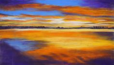 Bunbury (Western Australia) Sunset is a colourful work on paper ready to frame. Make the artist, Julie McKeown an offer https://www.artinvesta.com/sec_offer/654 - imagine this framed it will be a real talking point. See more great original art at www.artinvesta.com - look in the entire gallery for a huge choice of original art for sale