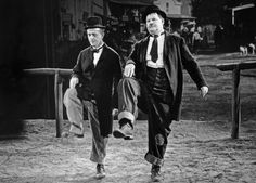 """Stan Laurel, the tall, thin, """"dumb"""" half of the team of Laurel and Hardy, was born on June Comedy Actors, Comedy Duos, Great Comedies, Classic Comedies, Classic Movies, Stan Laurel Oliver Hardy, Abbott And Costello, Cultura General, Hooray For Hollywood"""